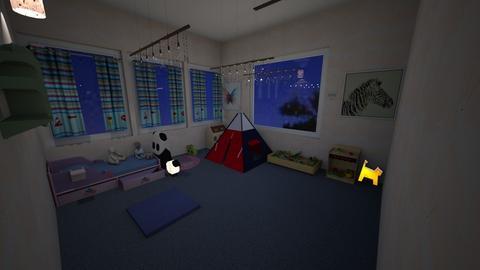 Baby Room - Kids room  - by Babybluewolfboo