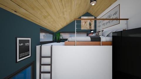 Tiny House Loft - Bedroom  - by SammyJPili