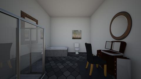 simple bathroom - Bathroom  - by XenaChico