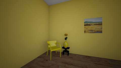 Yellow Bathroom - Retro - Bathroom  - by Skalicky2
