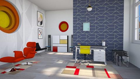bauhaus studyroom - Office  - by Moonpearl