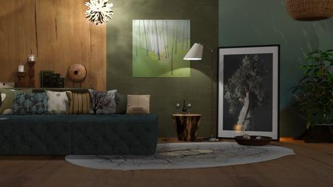 M_Trees - Living room  - by milyca8