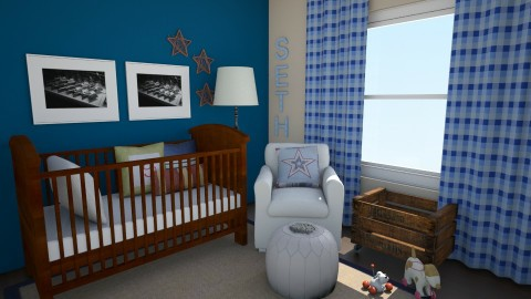 SOS room - Rustic - Kids room  - by TheSpencers