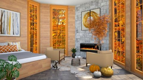 Autumn Fall - Bedroom  - by Mint_2005