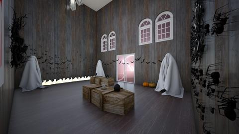 Haunted House  - by Nini_DRW_10