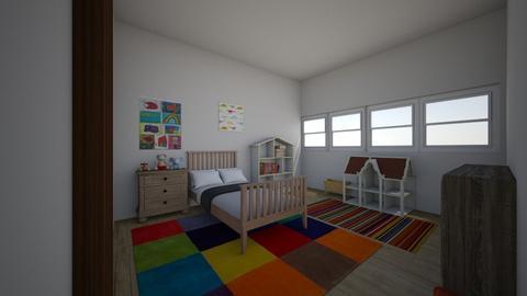 Budget Kid Room - Modern - Kids room - by kittytarg