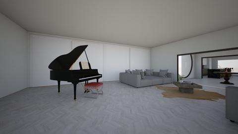 Hidden HillS - Modern - Living room - by Jesse Vuitton