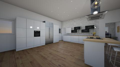 Leicht Modern 2021 view 2 - Modern - Kitchen  - by Lorenzo Finazzi
