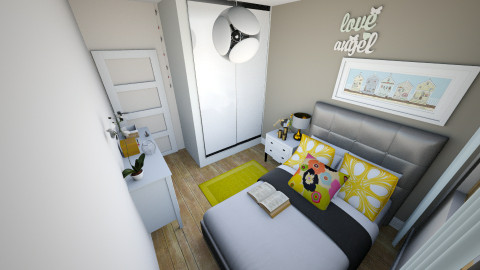 sunny bedroom 11 - Minimal - Bedroom  - by anzua