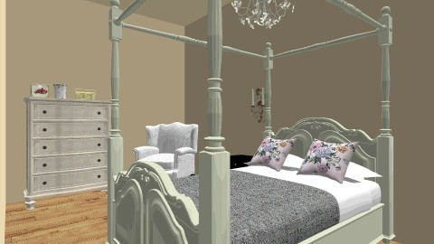 Old Lady Room - Vintage - Bedroom  - by love Tully love