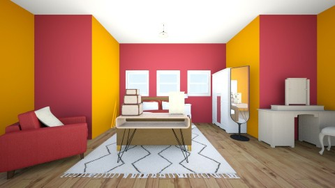 fruity loot - Vintage - Bedroom  - by Yimika Adebayo