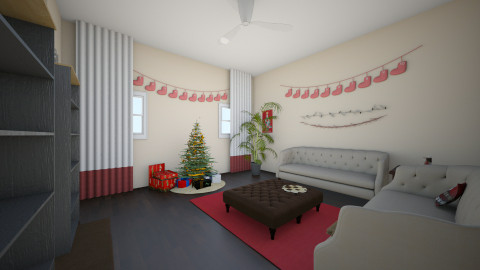 Cheery and Festive - Classic - Living room - by Faiths441