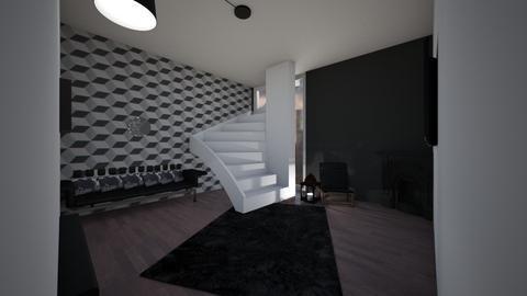 A new future BLACK - Living room  - by Hamzah luvs cats