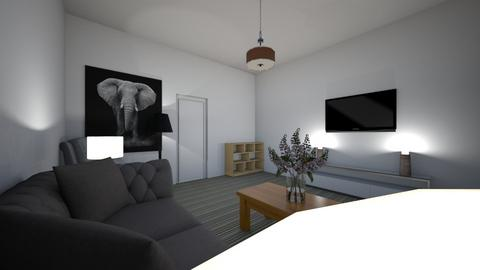 Living room project - Minimal - Living room  - by HarveyCoe
