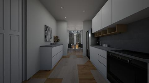 Kitchen with open dining  - Kitchen  - by LOGAN D B