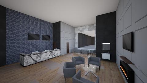 Range Lobby - Modern - by kiloromeo4
