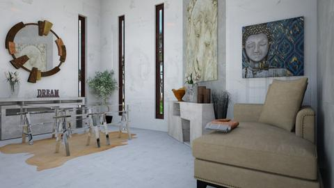 Designers Office view 2 - Eclectic - Office  - by TrustKisha