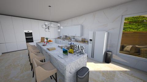Modern Living - Modern - Kitchen  - by natalieeyauu