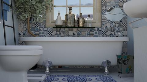 mosaic retreat - Bathroom - by anggey