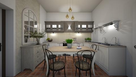 Ebed_bistrostyle - Kitchen  - by lovasemoke
