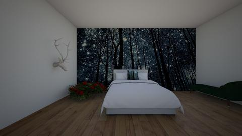 under the stars - Bedroom  - by hannahelise