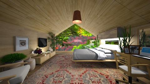 Atic Bedroom Outdoor - by Themis Aline Calcavecchia