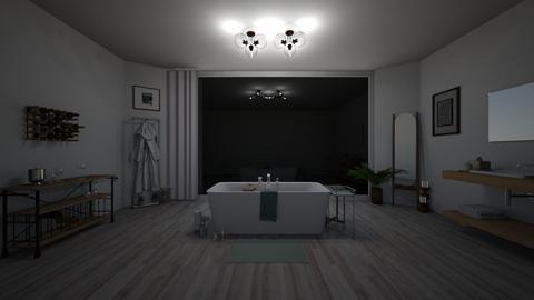 Namjoons luxury bathroom - Bathroom  - by elifff3232