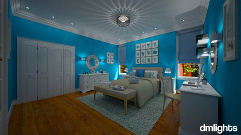Brooklyn Heights - Modern - Bedroom  - by Claudia Correia