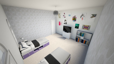 Future Twins Room - Modern - Kids room  - by El2002