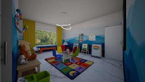 Modern glam - Kids room  - by flacazarataca_1