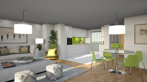 534 - Modern - Kitchen  - by Claudia Correia