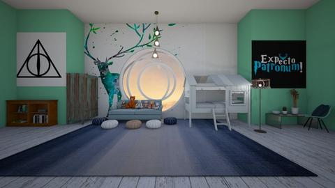 fairytale bedrrom - Kids room  - by deleted_1634383512_seasidestarfish