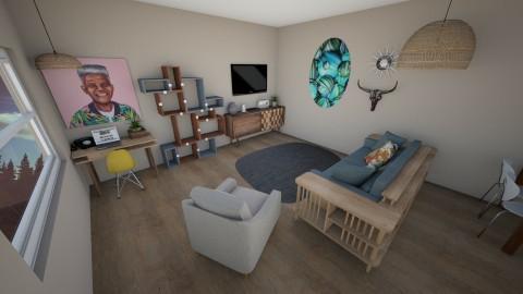 Retro Living Room - Retro - Living room  - by kennyhollis99