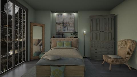 sage - Bedroom  - by daydreamer84