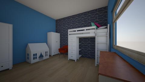 001 - Kids room  - by Gosia Furman
