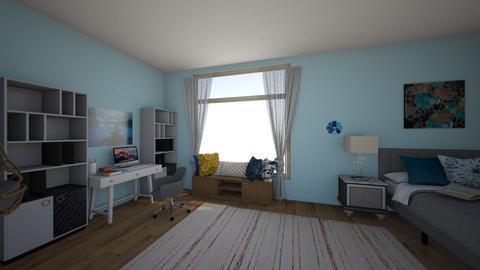 Penelopes Bedroom - Bedroom  - by Thekickfamily