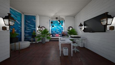 Nautical Office - by Cool Coder Girl
