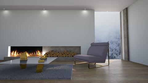 Bruma en el bosque - Minimal - Living room  - by LuzMa HL
