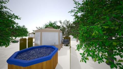 carpa 2 - Glamour - Bedroom  - by damian1996