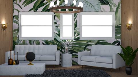Urban Jungle Living - Eclectic - Living room  - by laurenpoisner