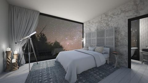 Natural Starlit Bedroom - Bedroom  - by KylaTH