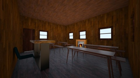 An Old Schoolhouse  - Modern - by ilovepie