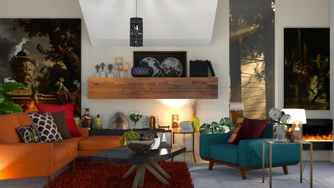 Maxi - Living room  - by zarky