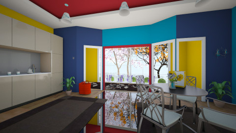 beneton room 1 - Classic - Living room  - by Boka i Deki