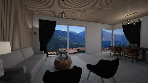 modernwood - Living room  - by MaluMeyer