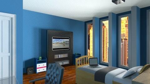 room - Retro - Bedroom  - by Rrais