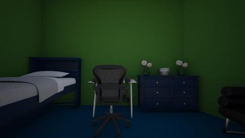 blue and green JimboYT - Living room  - by JimboYT
