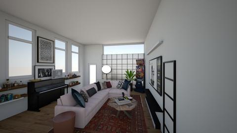 Roadkills Rooms  - Living room  - by eenafefe