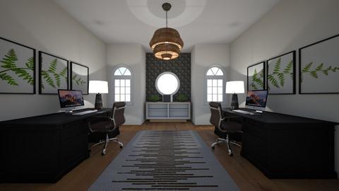 Symmetry  - Modern - Office  - by CarliShelton11