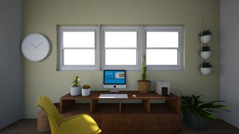 Beehouse inspired office - Office  - by chrisbeyer